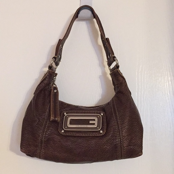 8bbf338eed96 Guess GUESS shoulder bag SG425802 REAMA HOBO COAL GY. GUESS Stassi Grommet Hobo  Bag. Guess brown